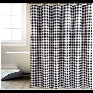 Other - ❤️ Farmhouse Gingham Curtain Gray Brand New ❤️
